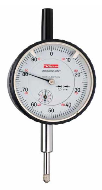 Mechanický úchylkoměr 0,01/10 mm