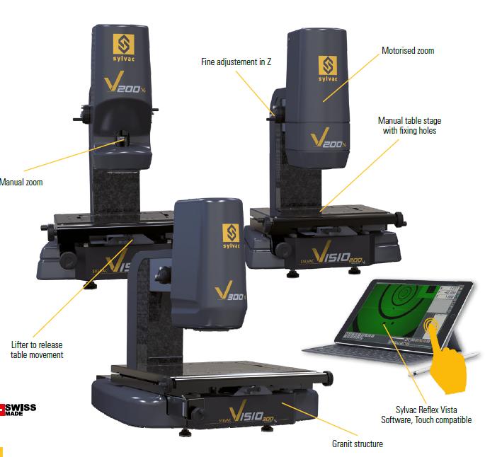 VISIO 200/300-optický měřicí systém