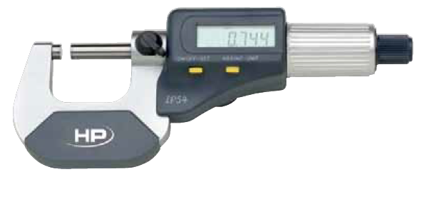Dig. třmenový mikrometr typ 0912