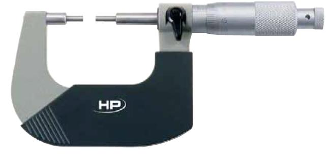 Mikrometr se zůženými doteky typ 0855
