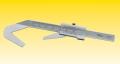 Měřítko na nástroje s lichým počtem drážek typ 0260